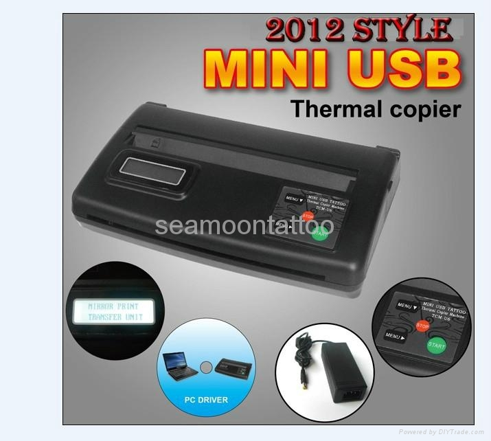 The 2012 style Mini USB Thermal Copier 1
