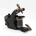 New Tattoo machine brass 12 coils