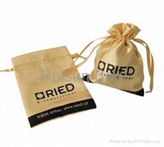 satin pouch bag drawstring pouch bag