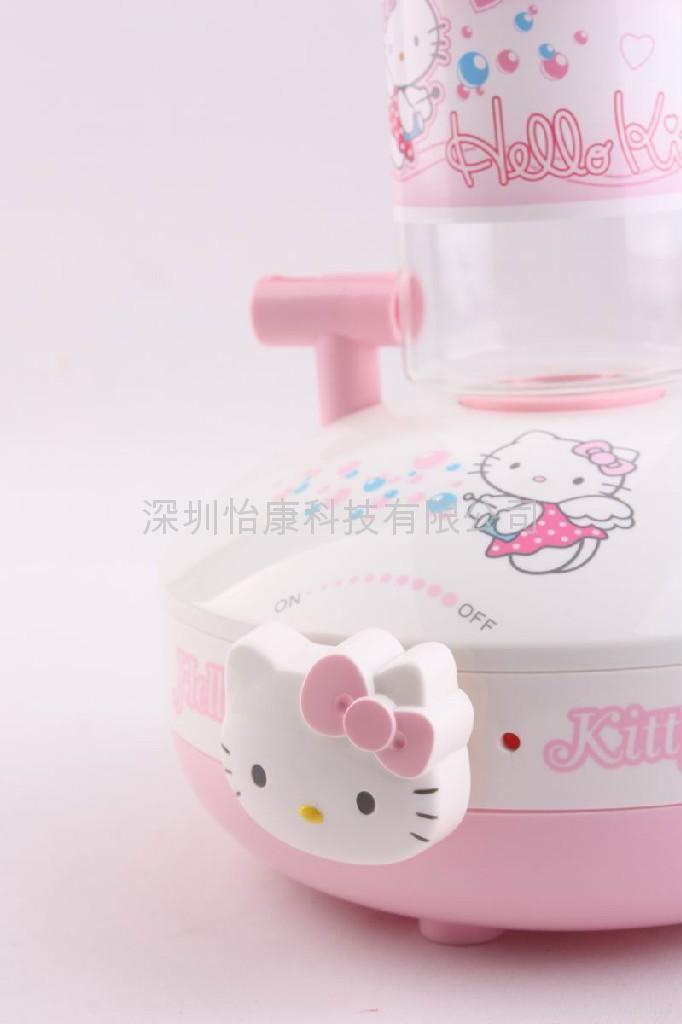 供應迷你超聲波hello kitty 加濕器 2