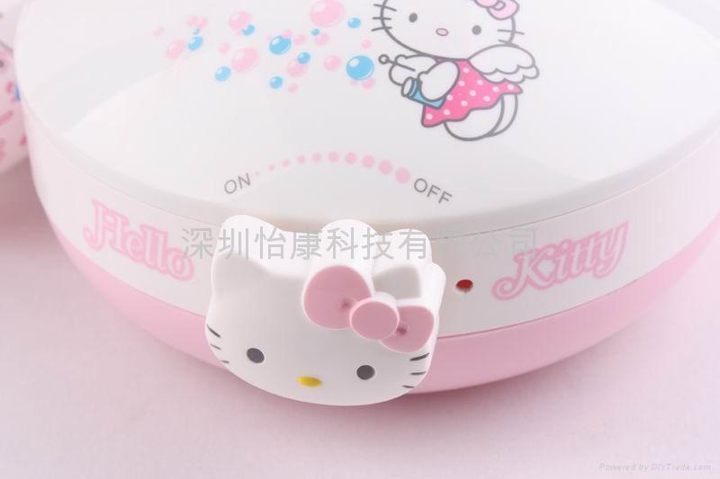 供應迷你超聲波hello kitty 加濕器 4