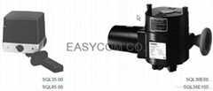 Electric 3-position actuators for butterfly va  es