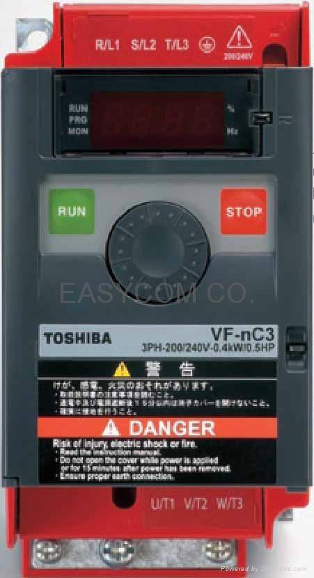 東芝變頻器 TOSVERT™ VF-nC3 1