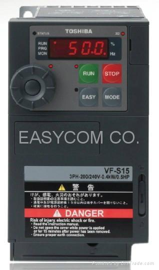 Toshiba frequency inverter  VF-S15 2