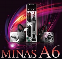 Panasonic servo: MINAS A6 (Hot Product - 1*)