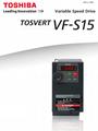 Toshiba frequency inverter  VF-S15 4