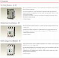 Mitsubishi contactor & breaker