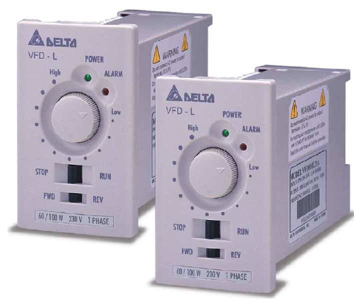 超小型變頻器VFD-L 40W-750W 1