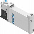 FESTO - Electrically and pneumatically actuated directional control valves