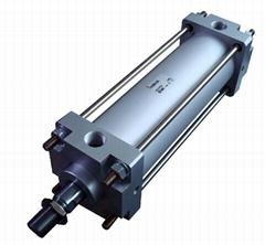 SMC标准型气缸(方形端盖)