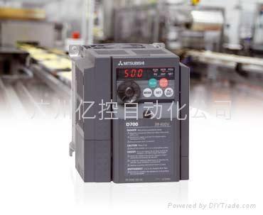 三菱變頻器FR-D700系列(簡易型) 2
