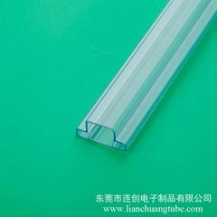 專業定做大功率LED包裝管,廣東連創LED包裝管