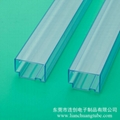 不易卡料高透明度连接器包装管