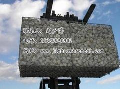 电镀锌石笼网