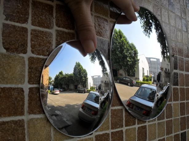 轉角鏡 亞克力凸面鏡 1