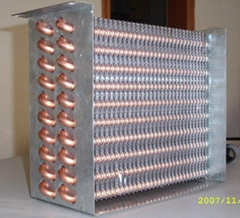 air cooled condenser/air cooler condenser/condenser coil/copper condenser
