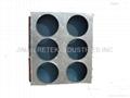 Dehumidifer evaporator/condenser