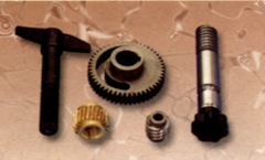 ZP33粉量器、斜齒輪、螺杆軸、