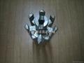 YK160刮粉轴(七边滚筒)