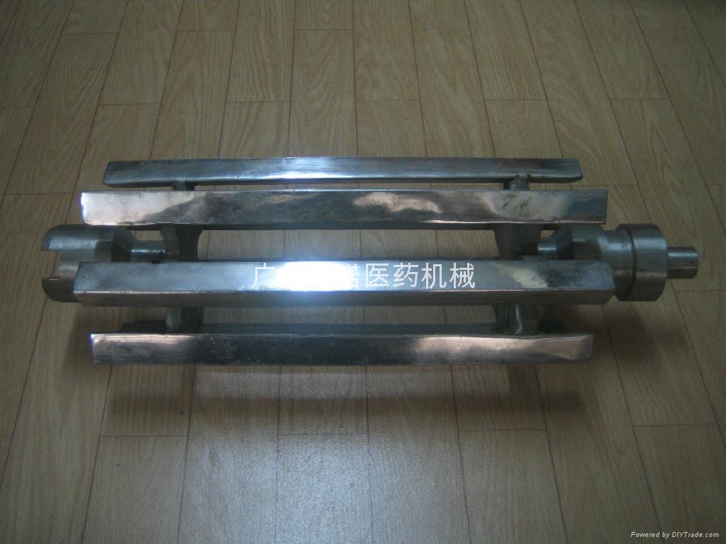 中南YK160不锈钢滚筒 1