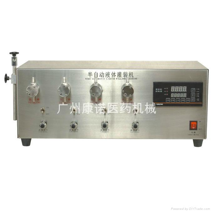 小型大流量灌裝液體機 3