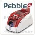Pebble4 color card printer