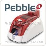Pebble4 color card printer