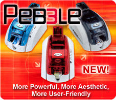 New Pebble3 commercial card printer