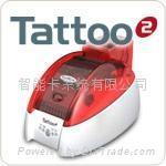 Tattoo2 color/monochrome card printer