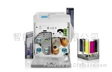 XID8300 single sided color card retransfer printer 4