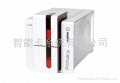 Primacy color single/dual side card printer