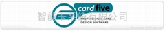 Cardfive card printing software
