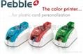 Pebble4 color card printer 2