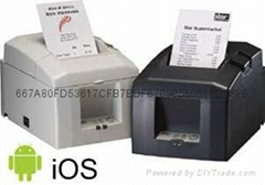 TSP654IIBI Bluetooth desktop printer