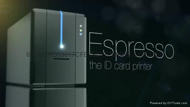 Matica Espresso color card printer 1