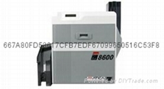 XID8600 retransfer color card  printer
