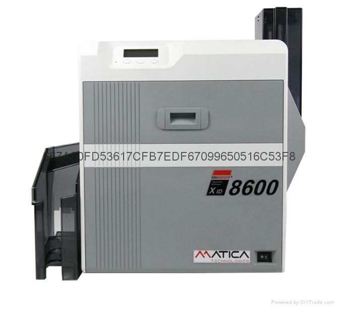 XID8600 熱轉印彩色印卡機 2