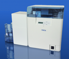 NISCA PR-C201 retransfer double sided color card printer