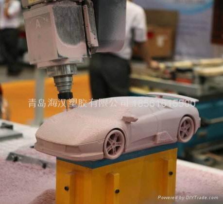 密度板五轴CNC加工件 1