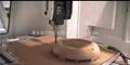 密度板五轴CNC加工件 4