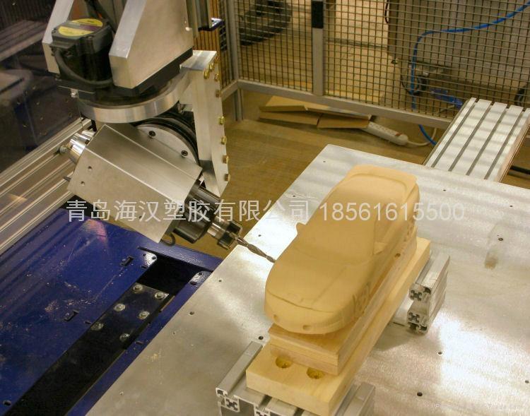 密度板五轴CNC加工件 5
