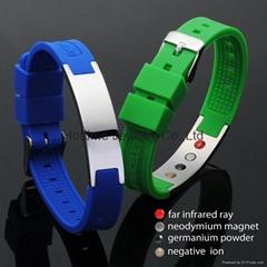 Power Energy Steel Bracelet