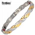 Fashion Design Good Sale Elegant Magnetic Stainless Steel Bracelet 5.01 Reviews