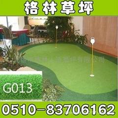 高尔夫打击垫场用果岭人造草人造草坪