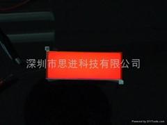 長沙思進廠家直銷琥珀色超薄背光板電梯控制板背光源