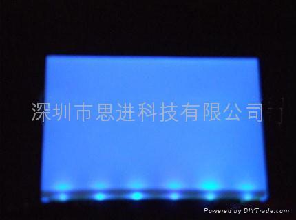 大連思進廠家定製供應藍色高亮LED背光源 1