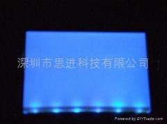 大连思进厂家定制供应蓝色高亮LED背光源