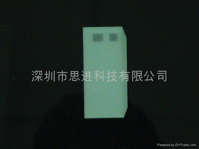 大連思進廠家定製供應藍色高亮LED背光源 3