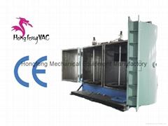 vacuum sputtering machine for plastic metallization equipment