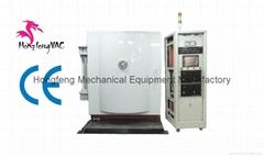 PVD coating machine for glass bottle chroming finishing